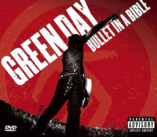 Bullet in a bible - Green Day - CD COVER