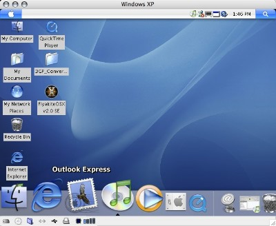 FlyakiteOsX 3.5 Trasforma Windows in Mac OS X