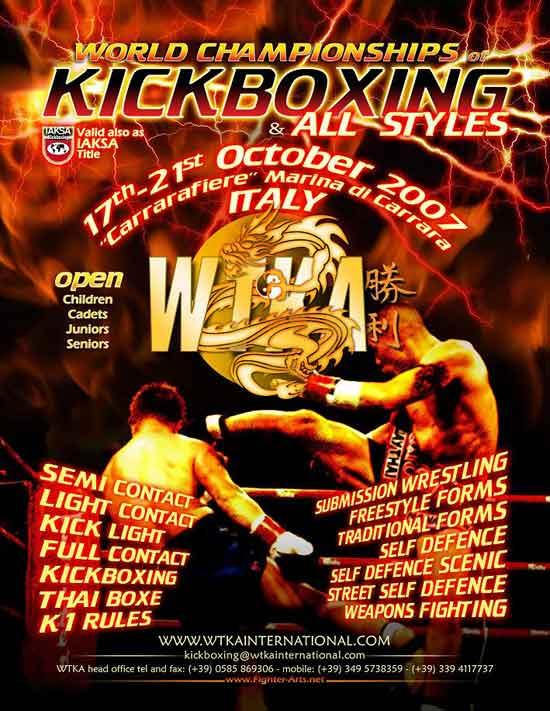 Mondiali WTKA - IAKSA 2007