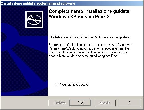 Microsoft Windows XP SP3 Problemi 2